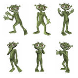 Cartoon Alien Stock Photos