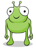Cartoon alien character Stock Photos