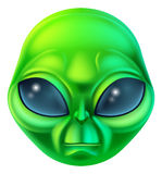Cartoon Alien Character Royalty Free Stock Image