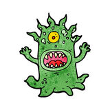 Cartoon alien monster Stock Photography