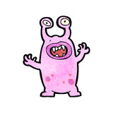 Cartoon alien monster Royalty Free Stock Images
