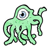 Cartoon alien monster Royalty Free Stock Photo