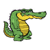Cartoon Alligator Stock Image