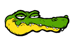 Cartoon Alligator Royalty Free Stock Photos