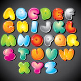 Cartoon Alphabet Stock Images