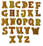 The cartoon alphabet - for the children Stock Photo