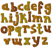 The cartoon alphabet - for the children Stock Photography