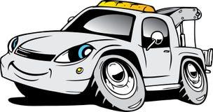 Cartoon ambulance Royalty Free Stock Image