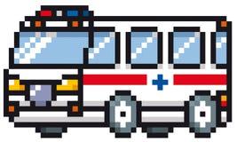 Cartoon Ambulance Stock Photo