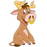 Cartoon american bull Stock Image