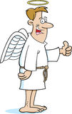 Cartoon angel. Cartoon illustration of an angel Stock Images
