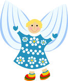 Cartoon angel Stock Photo