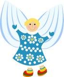 Cartoon angel Stock Photo