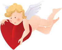 Cartoon angel Royalty Free Stock Images