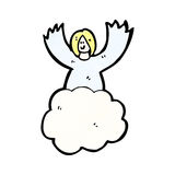 cartoon angels in heaven Stock Photo