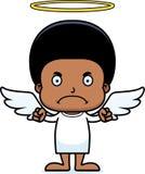 Cartoon Angry Angel Boy Royalty Free Stock Photography