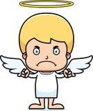 Cartoon Angry Angel Boy Stock Photo