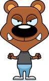 Cartoon Angry Bear Royalty Free Stock Photos