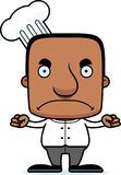 Cartoon Angry Chef Man Stock Images