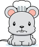 Cartoon Angry Chef Mouse Royalty Free Stock Photography