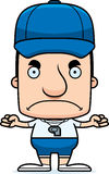 Cartoon Angry Coach Man Royalty Free Stock Image