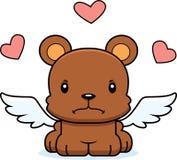 Cartoon Angry Cupid Bear Stock Photo