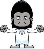 Cartoon Angry Doctor Gorilla Stock Photography