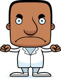 Cartoon Angry Doctor Man Stock Image