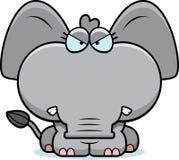 Cartoon Angry Elephant Stock Photography