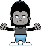 Cartoon Angry Gorilla Stock Image