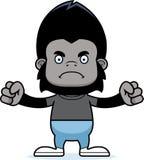 Cartoon Angry Gorilla Stock Image