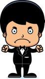 Cartoon Angry Groom Boy Royalty Free Stock Photos
