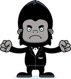 Cartoon Angry Groom Gorilla Royalty Free Stock Image