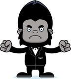 Cartoon Angry Groom Gorilla Royalty Free Stock Image