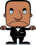 Cartoon Angry Groom Man Royalty Free Stock Image