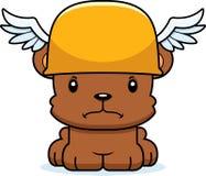 Cartoon Angry Hermes Bear Royalty Free Stock Photo