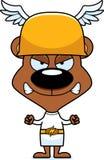 Cartoon Angry Hermes Bear Stock Image
