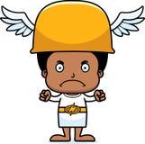 Cartoon Angry Hermes Boy Royalty Free Stock Photos