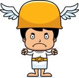 Cartoon Angry Hermes Boy Stock Image