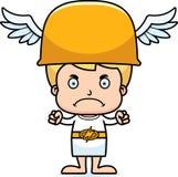 Cartoon Angry Hermes Boy Stock Photography