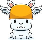 Cartoon Angry Hermes Bunny Stock Photos