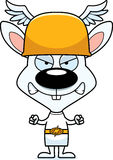 Cartoon Angry Hermes Bunny Stock Images