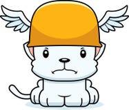 Cartoon Angry Hermes Kitten Stock Photo