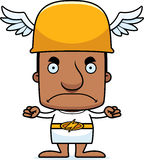 Cartoon Angry Hermes Man Royalty Free Stock Photos