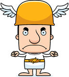Cartoon Angry Hermes Man Royalty Free Stock Photography