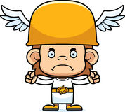 Cartoon Angry Hermes Monkey Royalty Free Stock Images