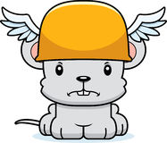 Cartoon Angry Hermes Mouse Stock Photo