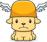 Cartoon Angry Hermes Puppy Stock Image