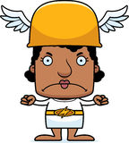 Cartoon Angry Hermes Woman Royalty Free Stock Images