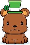 Cartoon Angry Irish Bear Stock Photos